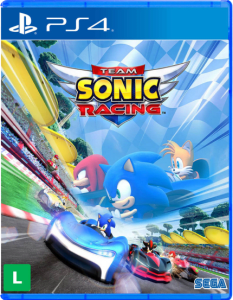 Jogo Team Sonic Racing - PS4