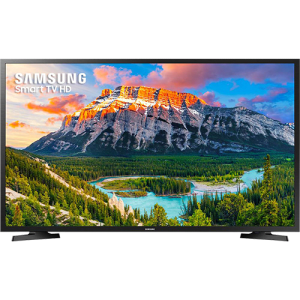 "Smart TV LED 32"" Samsung 32J4290 HD com Conversor Digital 2 HDMI 1 USB Wi-Fi 60Hz - Preta"