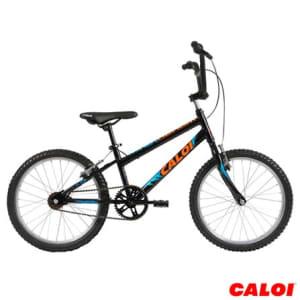 Bicicleta Infantil Masculina Caloi Venom Aro 20 Preta - 36344_PRD