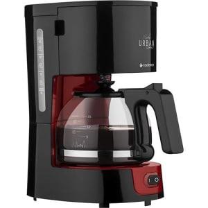 Cafeteira Elétrica Cadence Urban Compact CAF300 (220V) 0,6L com Jarra de Vidro - Vermelha