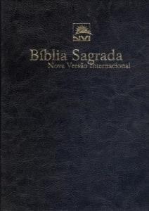 Bíblia Sagrada - Nova Versão Internacional - Capa Luxo - Preta (Cód: 4060297)