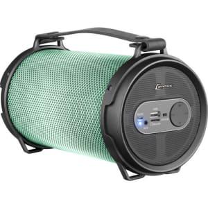 Caixa de Som Speaker Boom Lenoxx BT550 Bluetooth com Rádio FM e Subwoofer LED - 40W