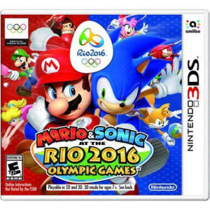 Game Mario & Sonic At The Rio 2016 Olympic Games - 3DS