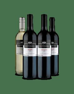 Kit de Vinhos Viña de Santa Isabel (4 Garrafas)
