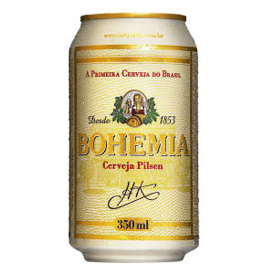 Cerveja Bohemia Lager 350ml