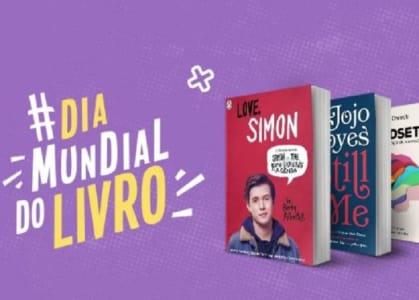 Dia Mundial do Livro na Saraiva - Livros com até 70% off