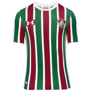 Camisa Fluminense I 17/18 s/nº Torcedor Under Armour Masculina - Grená