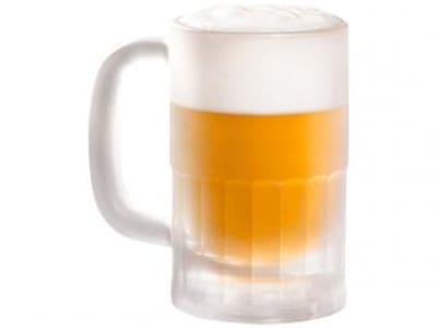 Caneca de Vidro de Cerveja 355ml - Crisal - Magazine Ofertaesperta