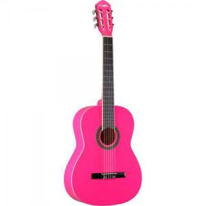 Violao Clássico Memphis By Tagima Acústico AC 39 Cordas de Nylon, Tarraxas 3+3 Douradas - Pinkcódigo do produto: 560624