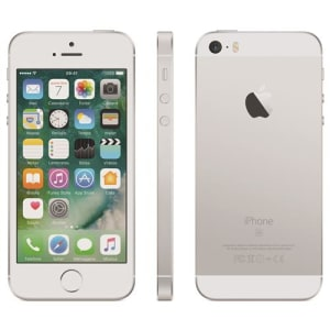 "iPhone SE Apple com 32GB, Tela 4"", iOS 9, Sensor de Impressão Digital, Câmera iSight 12MP, Wi-Fi, 3G/4G, GPS, MP3, Bluetooth e NFC – Prateado"