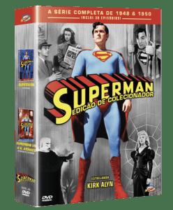 Box DVD Superman - Edição de Colecionador - 4 Discos