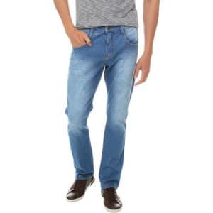 Oferta ➤ Calça Jeans Luk Slim Intermediária (Tam: Do 38 ao 48)   . Veja essa promoção