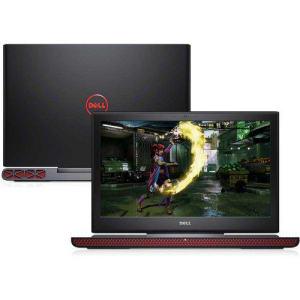 "Notebook Dell Gaming i15-7567-D20P 7ª Geração Intel Core i7 8GB 1TB Nvidia 4GB 15.6"" Linux Preto"