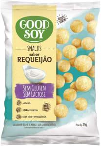 [2 Unidades] Snack Goodsoy Requeijão – Sem Glúten, Sem Lactose - Snack Saudável – 25g