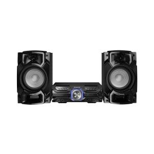 Mini System Panasonic 580W CD Bluetooth USB Bivolt - SC-AKX520LBK