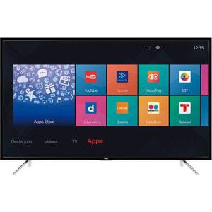 """Smar TV LED 49"""" TCL L49S4900FS Full HD com Conversor Digital 3 HDMI 2 USB Wi-Fi"""