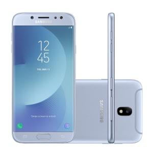 cf8ab99f4 Smartphone Samsung Galaxy J7 Pro SM-J730GZSBZTO 64GB Azul 4G LTE Tela 5.5
