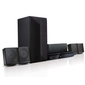 Home Theater LG LHB625M 5.1 Canais 1000W com Bluetooth, USB, HDMI, Blu-ray Player 3D e Smart TV