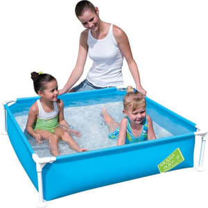 Piscina Quadrada Splash & Play Azul 365 Litros - Bestway