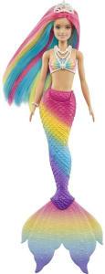 Barbie Mattel Fan Sereia Muda De Cor GTF89