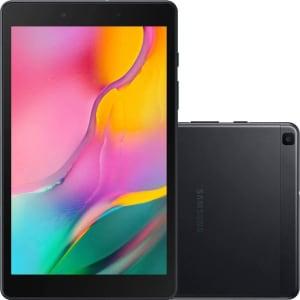 """Tablet Samsung Galaxy A T295 32GB 4G Tela 8"""" Android Quad-Core 2GHz 2GB RAM Câmera 8MP AF + 2MP - Preto"""