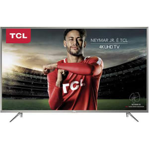 "Smart Tv Led 49"" Semp Toshiba TCL 49P2US Ultra Hd 4k Hdr Com Wifi Integrado 3 Hdmi 2 Usb 120 Hz"