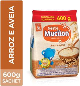 Cereal Infantil Arroz e Aveia Mucilon 600g