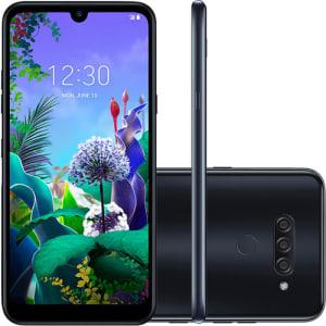 "Smartphone LG K12 Prime 64GB Dual Chip Android 9.0 (Pie) Tela 6.2"" Octa Core 2.0GHz 4G Câmera 16MP+2MP+W5MP - Preto"