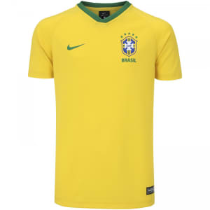 Camisa da Seleção Brasileira I 2018 Nike Torcedor - Juvenil
