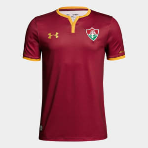 Camisa Fluminense III 17/18 s/nº Torcedor Under Armour Masculina - Bordô