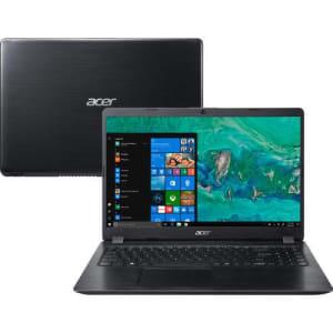 "Notebook Acer A515-52G-58LZ 8ª Intel Core i5 8GB (Geforce MX130 com 2GB) 1TB Tela LED 15,6"" Windows 10 - Preto"