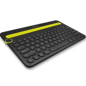 Teclado Sem Fio Logitech K480, Bluetooth, Multi-Device, US, Cinza