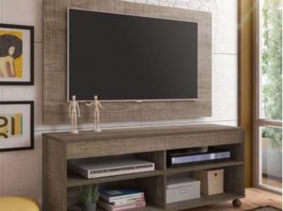 Rack para TV até 47 com Painel para TV de até 47 - Artely Cross II - Magazine Ofertaesperta
