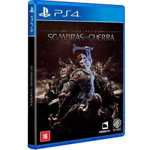 Game Terra Média Sombras da Guerra - PS4