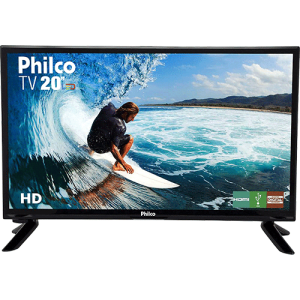 "TV LED 20"" Philco PH20M91D HD Conversor Digital Integrado 1 HDMI 1 USB"