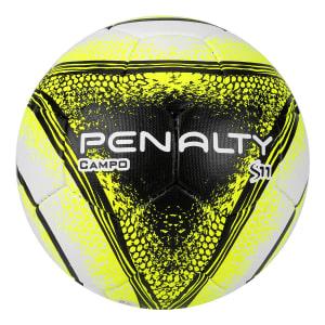 Bola Futebol Campo Penalty S11 R4 VIII - Branco e Amarelo