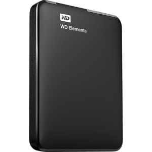 HD Externo Portátil WD Elements 1TB USB 3.0 - WDBUZG0010BBK