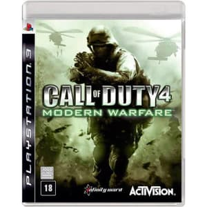 Game - Call of Duty 4: Modern Warfare - PS3