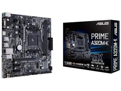 Confira ➤ Placa Mãe Asus PRIME A320M-K/BR Socket AM4 Chipset AMD A320 ❤️ Preço em Promoção ou Cupom Promocional de Desconto da Oferta Pode Expirar No Site Oficial ⭐ Comprar Barato é Aqui!