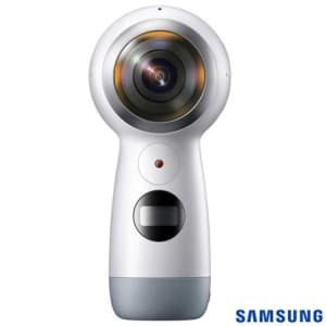 Câmera Samsung Gear 360, para Vídeos e Fotos em 360º, Branca - SM-R210 NZWAZTO
