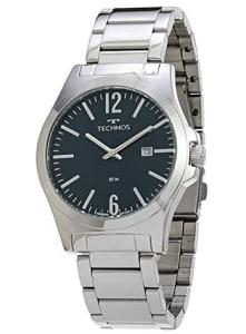 Relógio Technos, Pulseira de Aço Inoxidável, Masculino Prata 2115LAY/1A