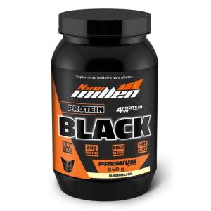 Whey Protein Black - New Millen - 840G 840g - Baunilha