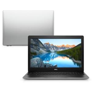 "Notebook Dell Inspiron 3583-MS110S 8ª Geração Intel Core i7 8GB 1TB 128GB SSD Placa de vídeo AMD 15.6"" Windows 10 Prata"