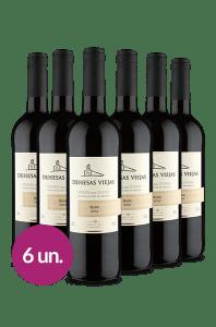 WineBox 6 unidades: Dehesas Viejas D.O Ribera Del Duero Roble 2016