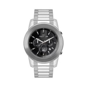 Relógio Technos Connect Unissex Prata Smartwatch M1AA/1P