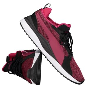 Tênis Puma Pacer Next Tw Knit Feminino - Rosa
