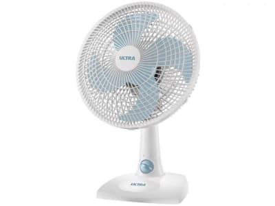 Oferta ➤ Ventilador de Mesa Ultra V16 Branco/Azul – 30cm   . Veja essa promoção