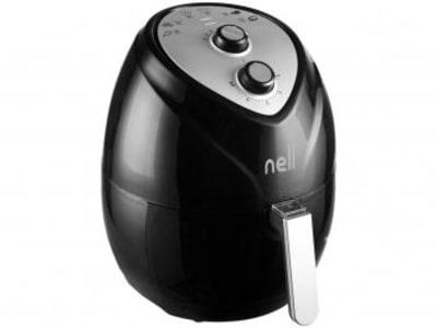 Fritadeira Elétrica sem Óleo/Air Fryer Nell Fit - Preto 3,2L com Timer 110V