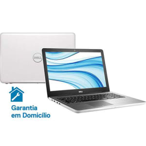"Notebook Dell Inspiron i15-5567-D40B Intel Core 7 i7 8GB (AMD Radeon R7 M445 de 4GB) 1TB Tela LED 15,6"" Linux - Branco"