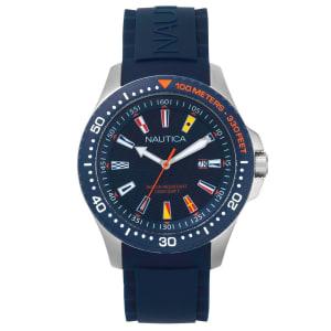 Relógio Nautica Masculino Borracha Azul - NAPJBC002